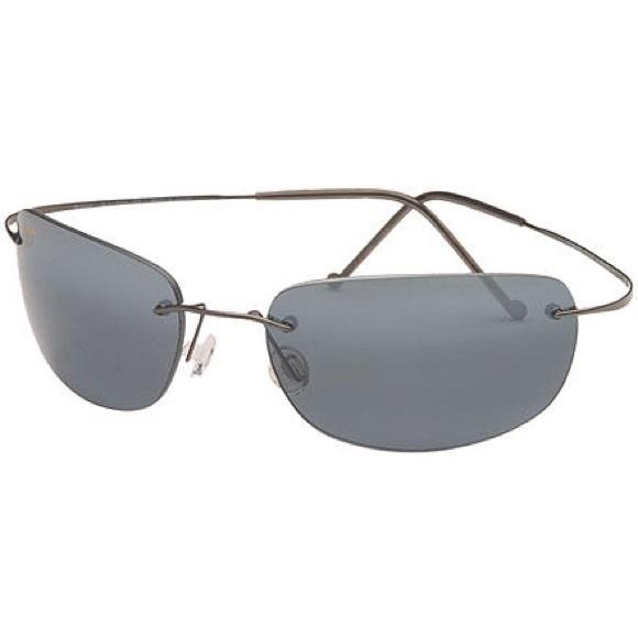 Maui Polarized Kapalua Jim Titanium Sunglasses Ibgf6Y7yv